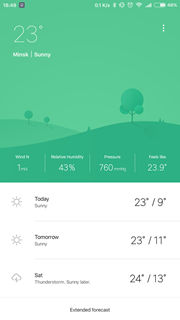 Weather Mate 1