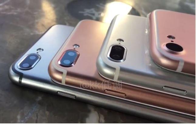 Apple iPhone 7 Plus video leak
