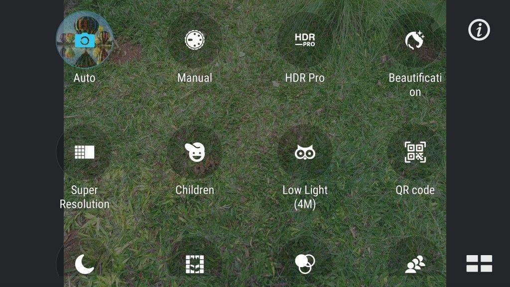 ASUS ZenFone 3_camera modes