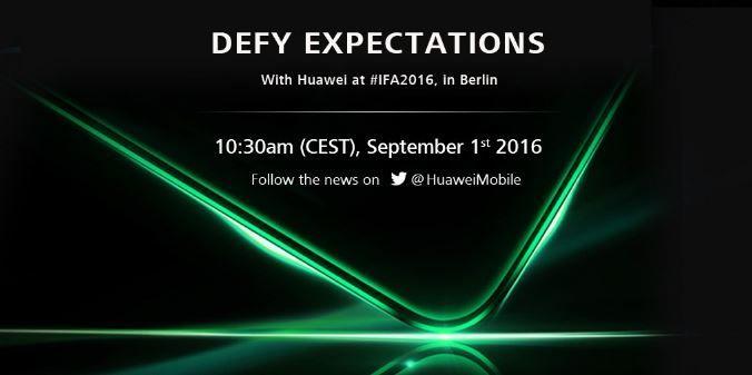 Huawei IFA 2016 invite