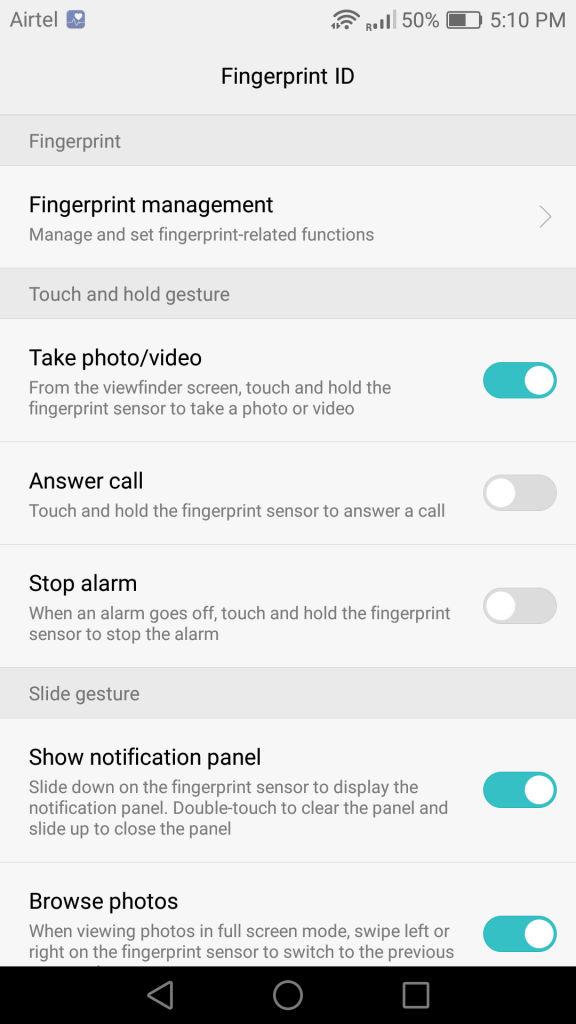 Huawei P9_Fingerprint