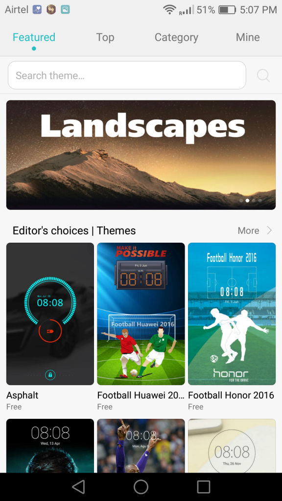Huawei P9_Themes