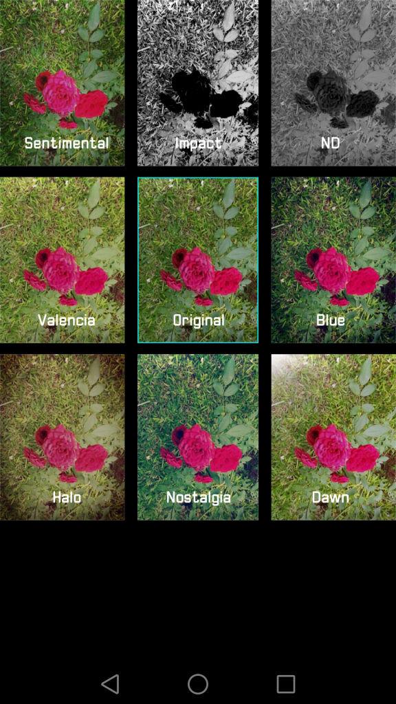 Huawei P9_camera filters