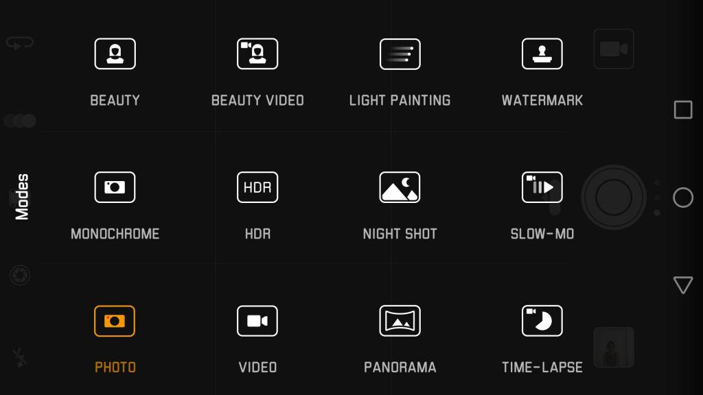 Huawei P9_camera modes