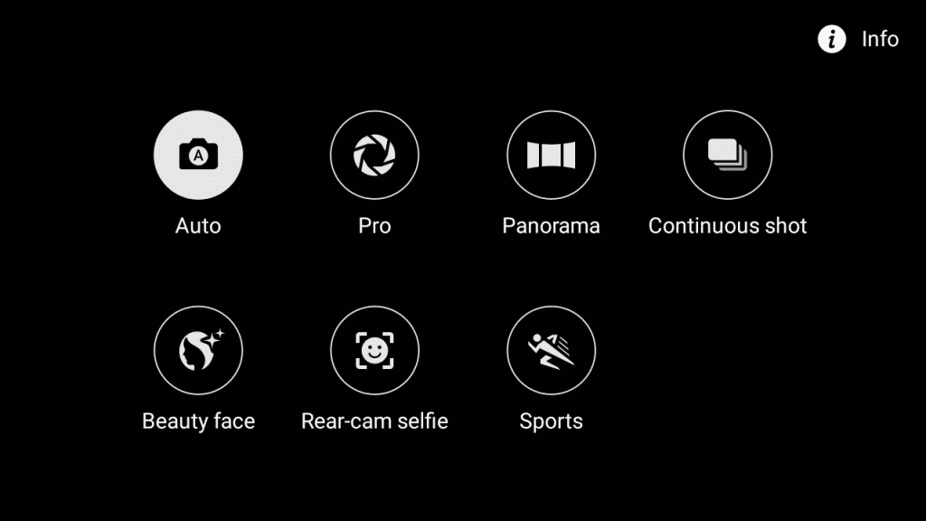 Samsung Galaxy J2_camera modes