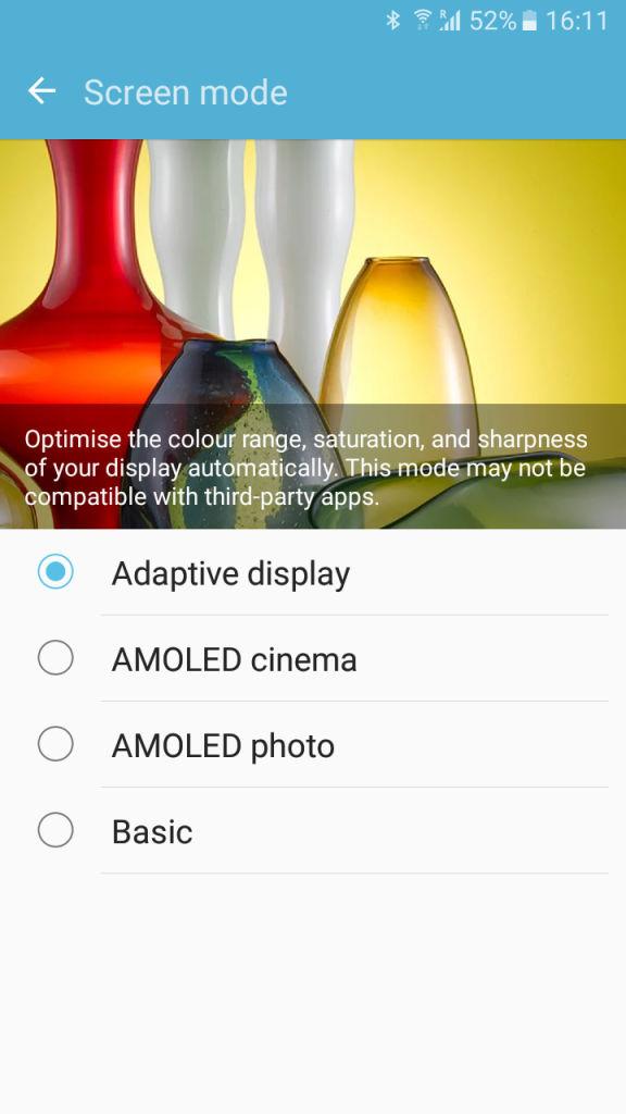 Samsung Galaxy J2_screen mode