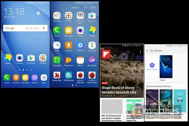 Software: #SamsungTouchwiz