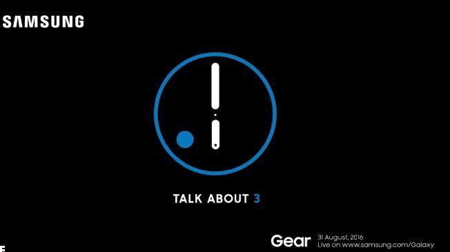 Samsung Gear S3 invite