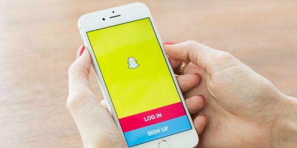 SnapChat-iphone-görüntü için