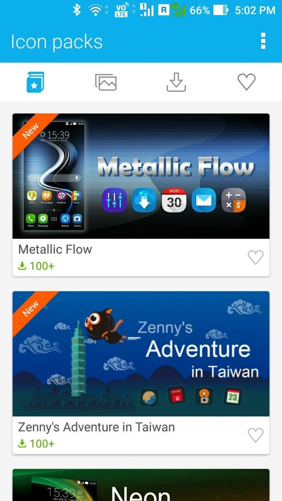 ASUS ZenFone 3_icons