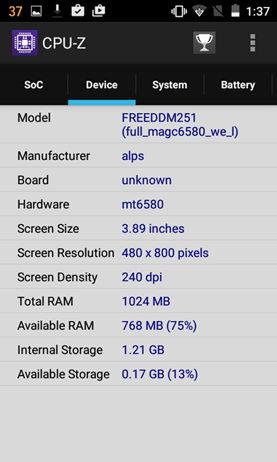 Freedom 251 CPU-Z (3)