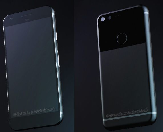 HTC Nexus Sailfish 3D render leak