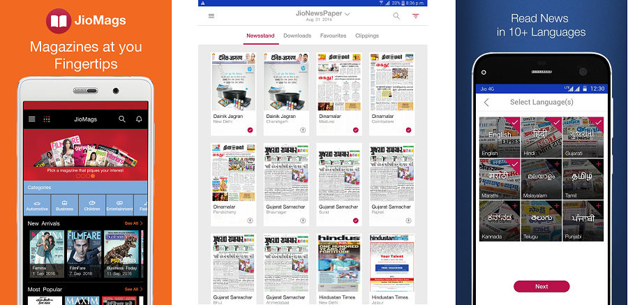 JioMags-JioXpressNews-JioNewsPaper