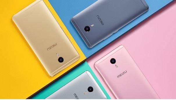 MEIZU m3 Max colours