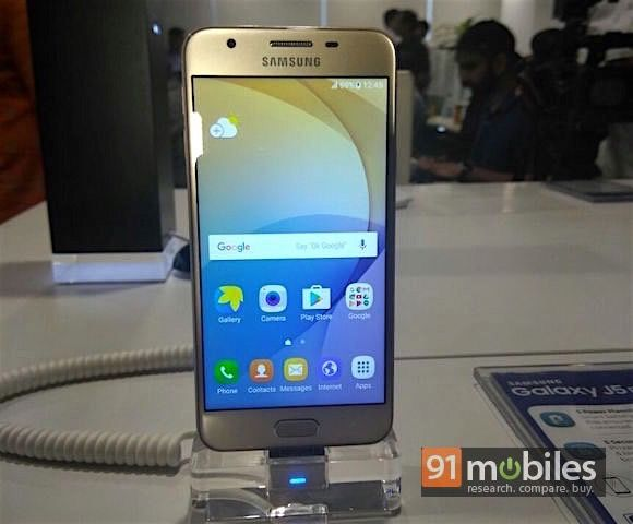 Samsung Galaxy J5 Prime launched for Rs 14,790 | 91mobiles com