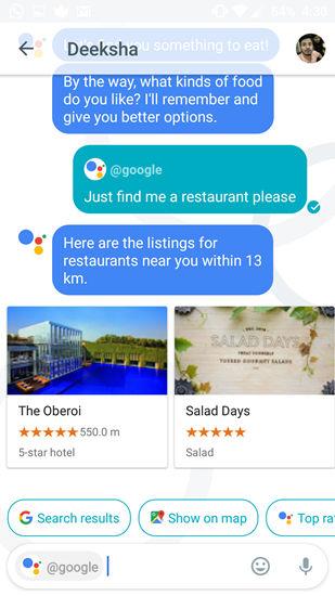 Google Allo UI 11