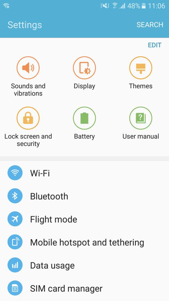 Samsung Galaxy On Nxt screenshot 2
