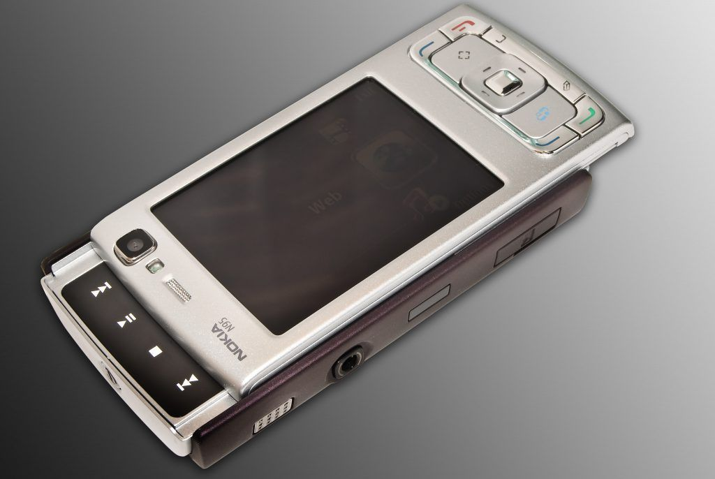 Nokia N95 Media Keys Open