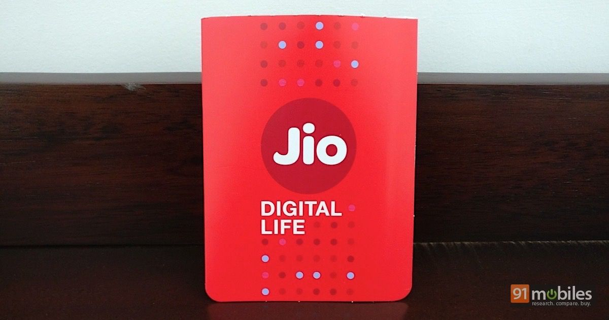 Reliance Jio's Rs 399 Diwali offer lets you use its services