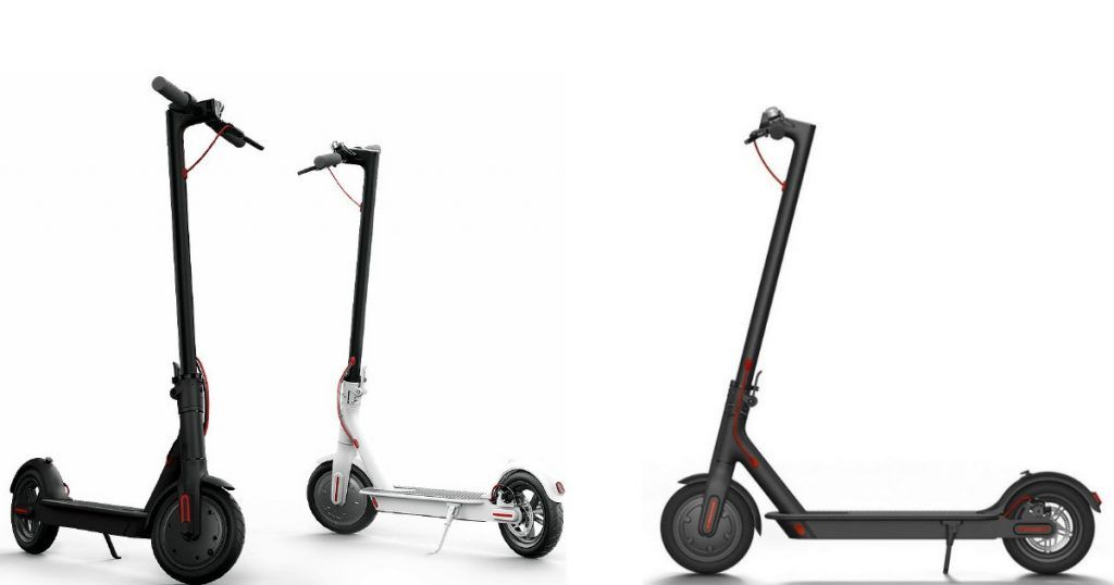xiaomi mijia electrical scooter with foldable design. Black Bedroom Furniture Sets. Home Design Ideas