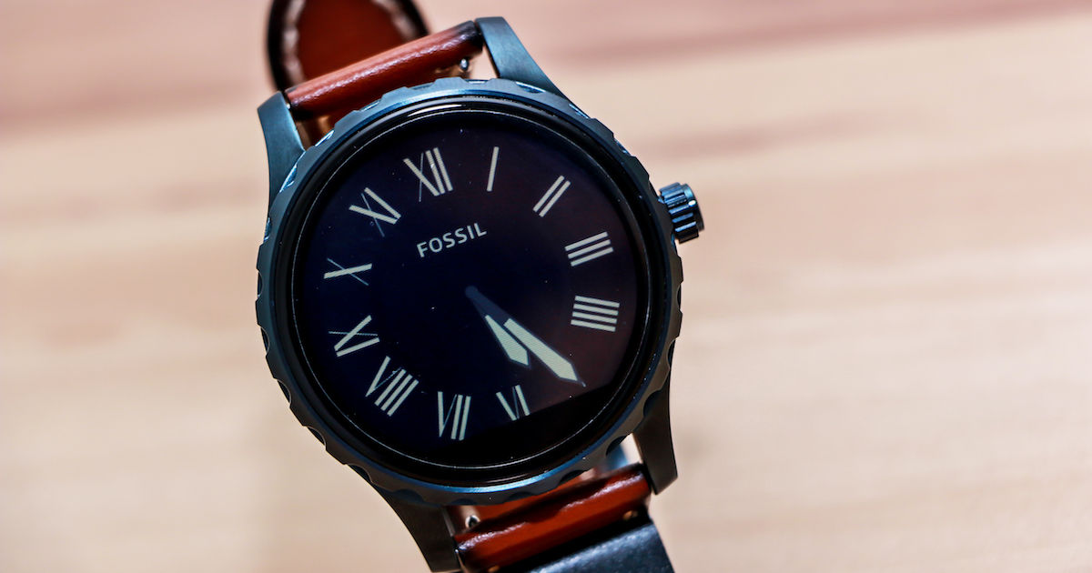 dd4ede469f04b Fossil Q Marshal review  will attractive looks alone suffice ...