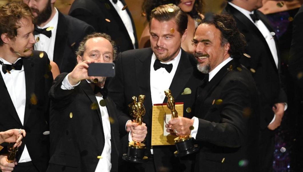 Leonardo DiCaprio's Oscar winning selfie