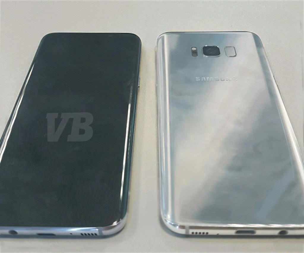 Samsung Galaxy S8 live images leak