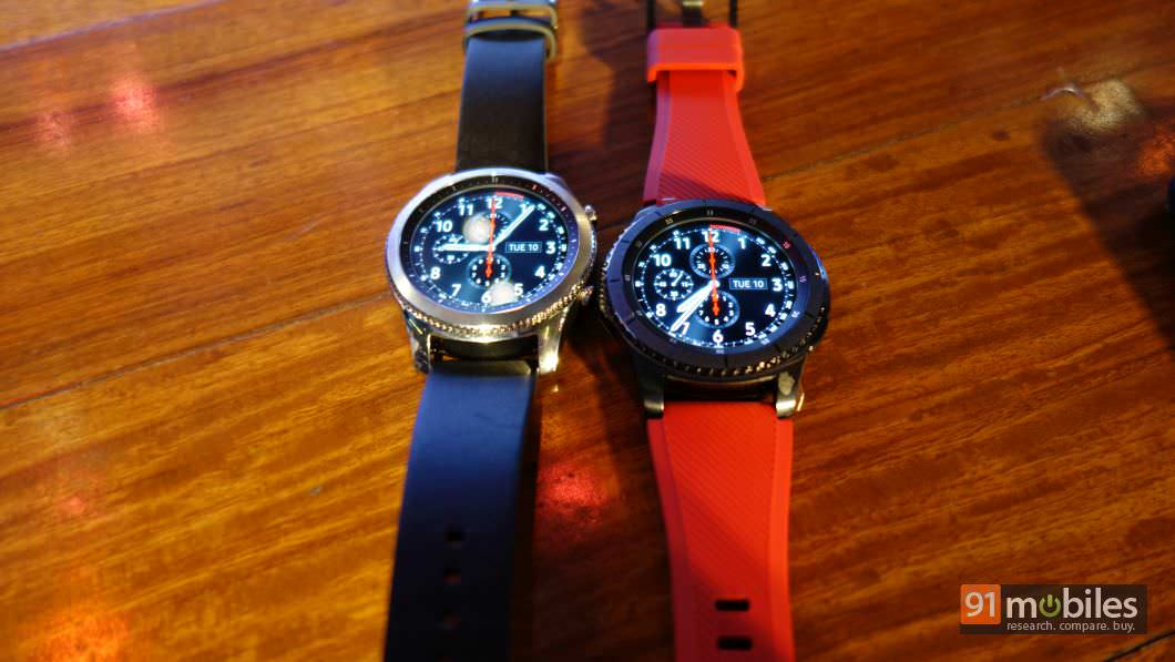 Samsung Gear S3 Classic and Frontier models