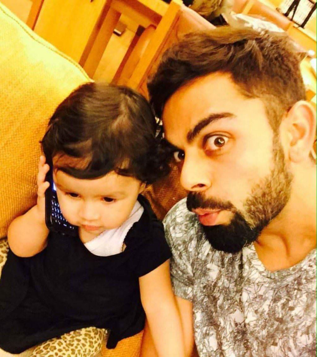 Virat Kohli's selfie before WT20 Semi-Final