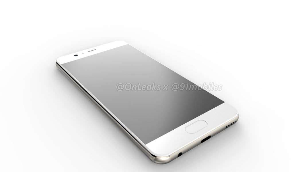Huawei P10 renders - 91mobiles exclusive 01