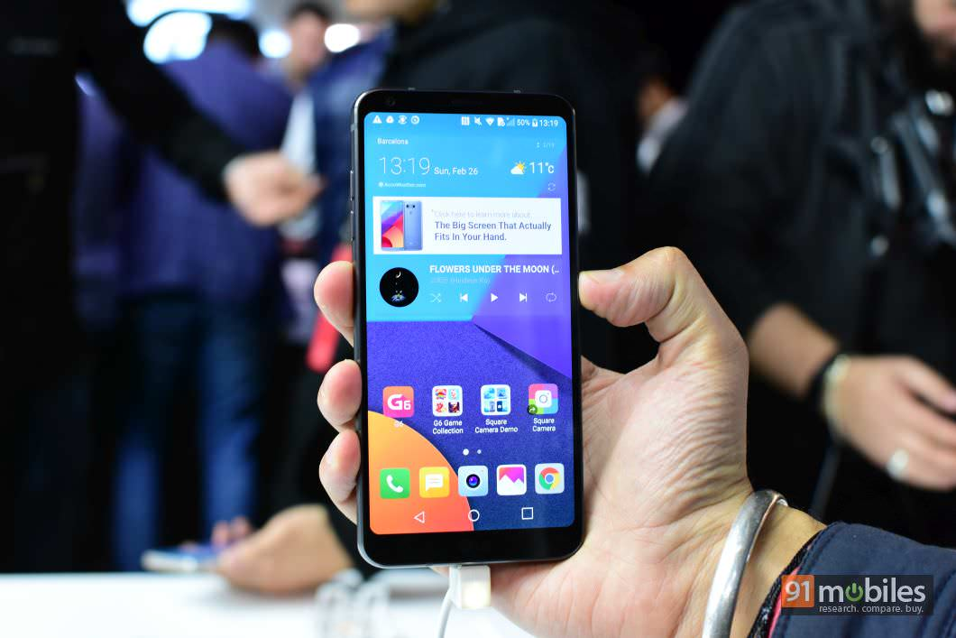LG G6 first impressions: starting 2017's flagship battle with a bang