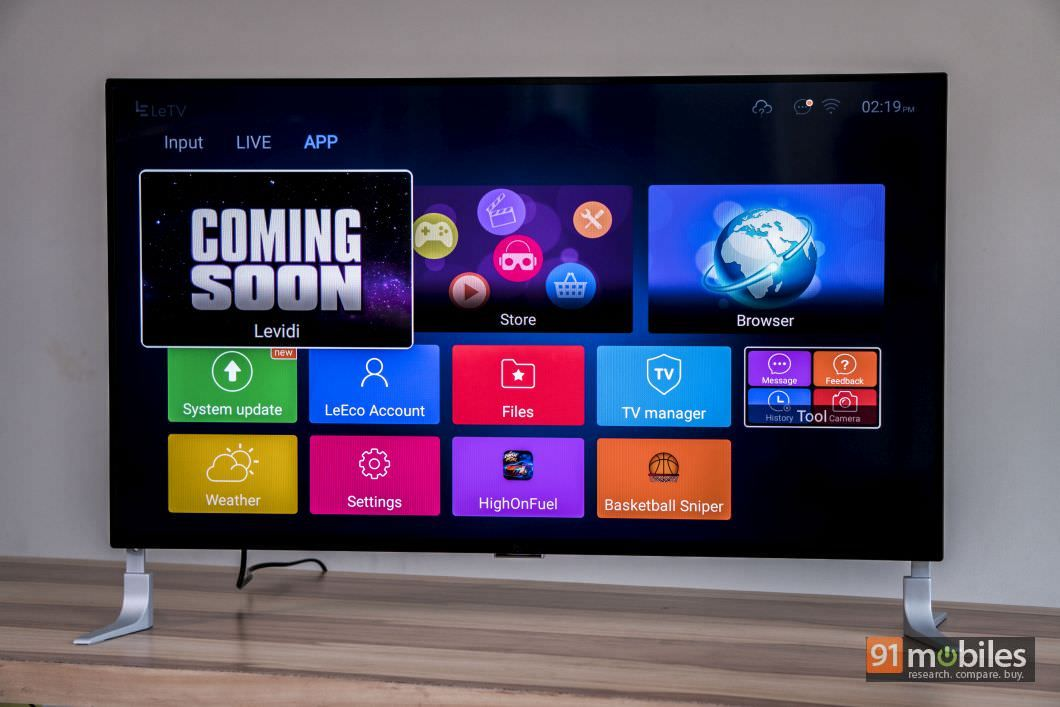 LeEco Super4 X40 review: A good TV let down by a few empty