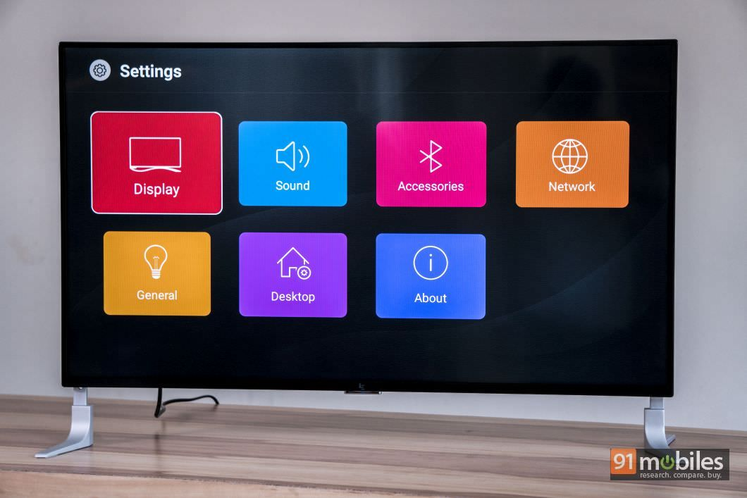 LeEco Super4 X40 first impressions: a stylish TV with built