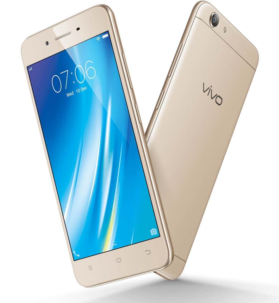 vivo y53 with 5 inch display and snapdragon 425 soc
