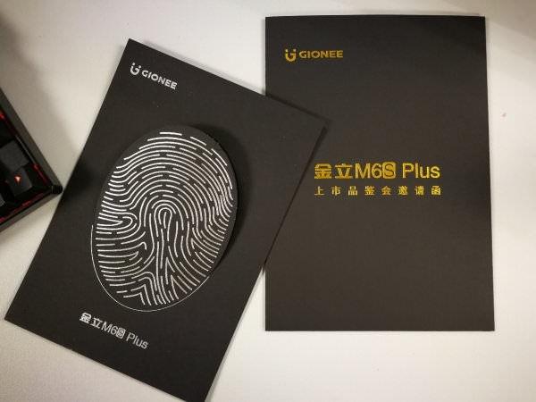 Gionee M6s Plus invite