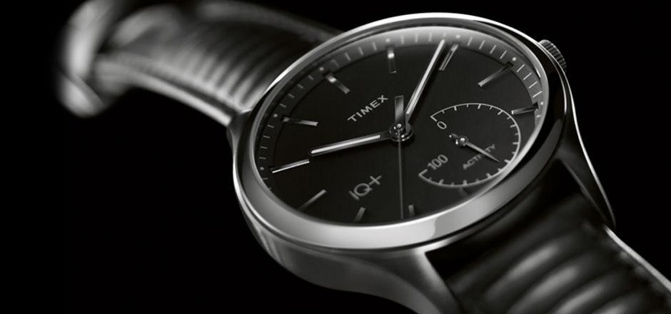 Timex IQ+ design