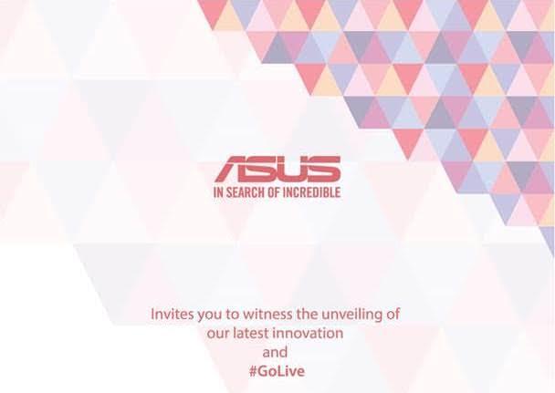 ASUS Zenfone Live invite
