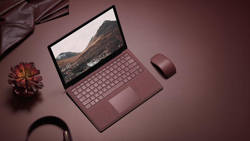 Microsoft Surface Laptop design