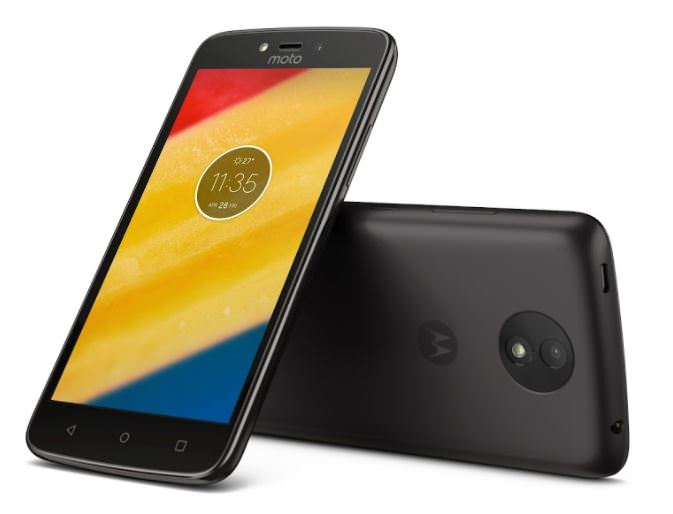 Moto C Plus official