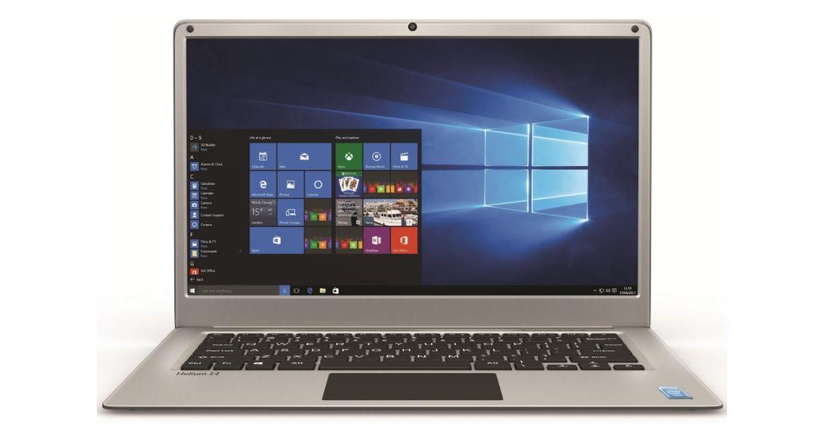 Lava Helium 14 Windows 10 laptop with 14 1-inch full HD