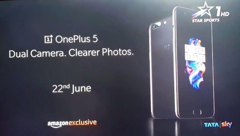 OnePlus 5 design teaser