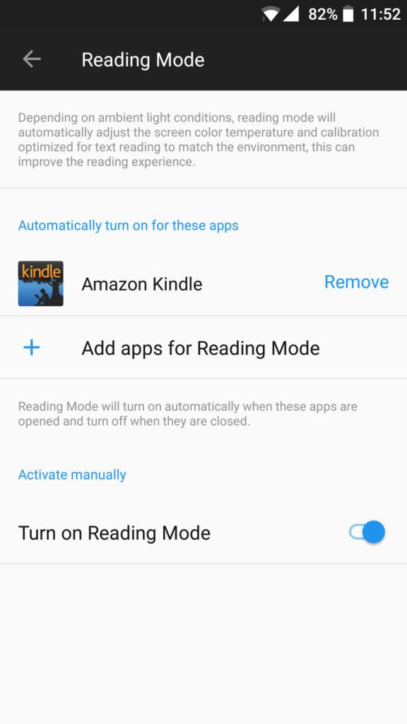 OnePlus 5_reading mode
