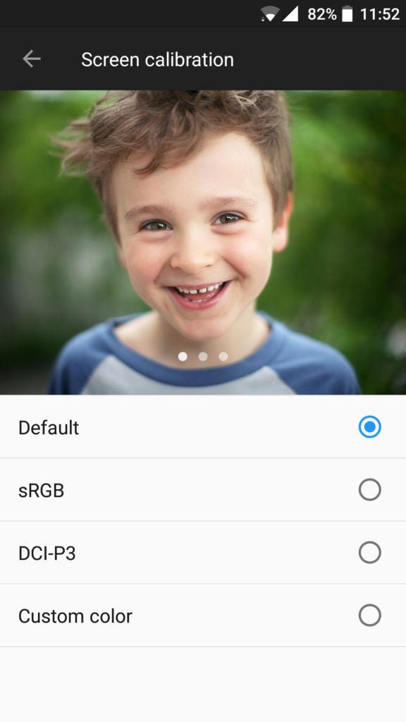 OnePlus 5_screen calibration
