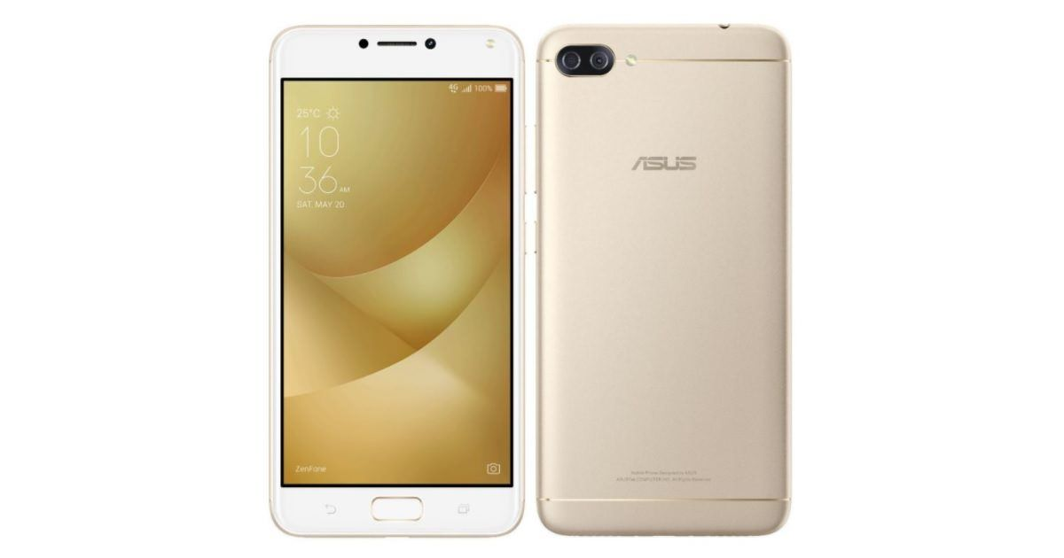 ASUS ZenFone 4 Max with dual cameras and 5,000mAh battery