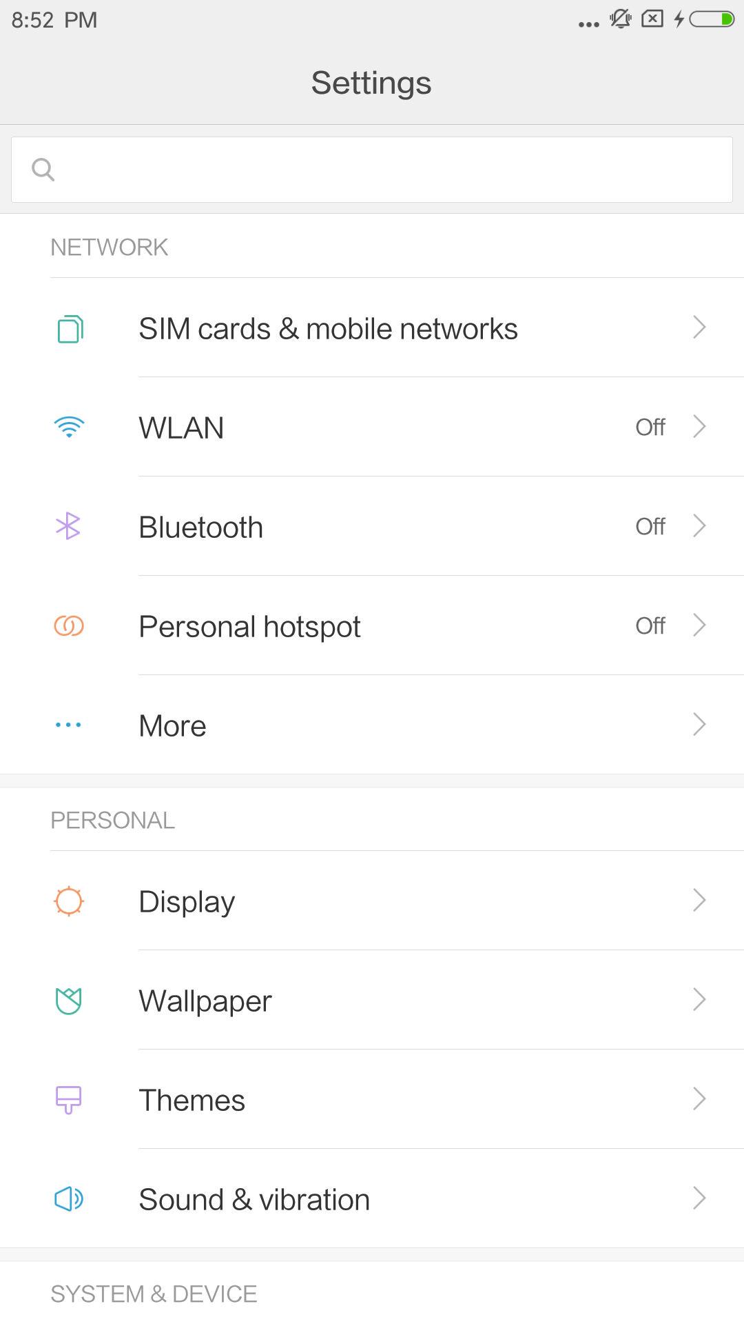 Xiaomi Mi Max 2 UI 2