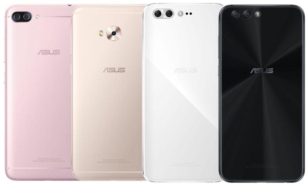 ASUS ZenFone 4 series official