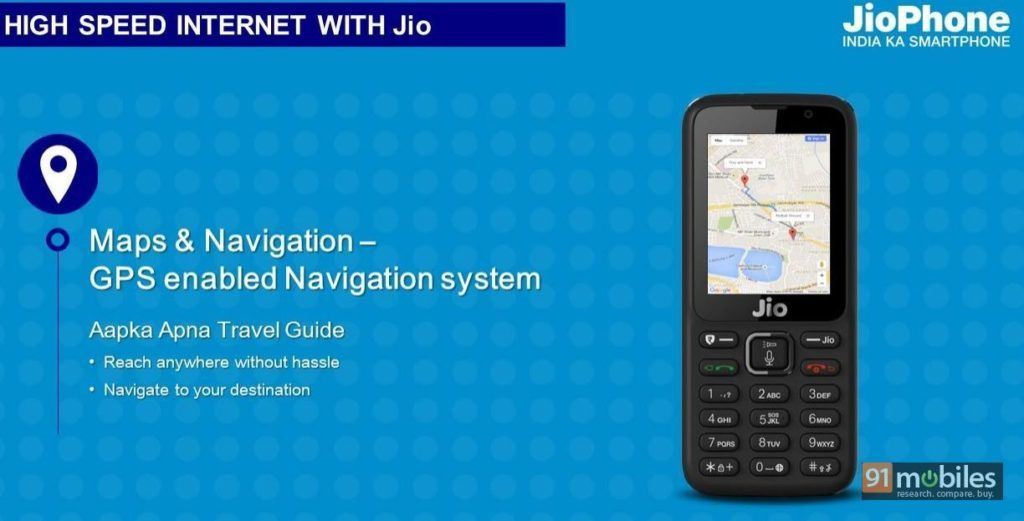 JioPhone GPS confirmed leak