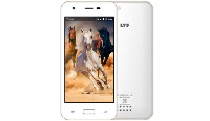 LYF C451 with 4 5-inch display and Snapdragon 210 SoC