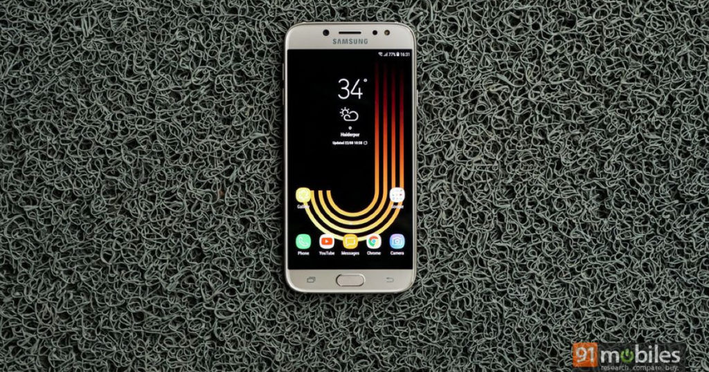 Samsung Galaxy J7 Pro Android Oreo update rolling out in