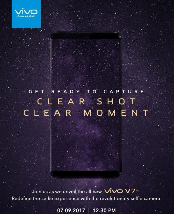 Vivo V7+ invite